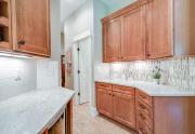 Kitchen to Half Bath